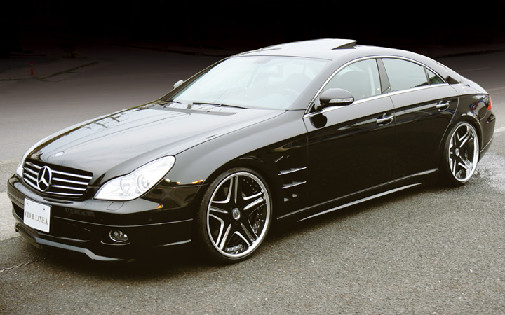 L450 [BLACK] (attached to Mercedes-Benz CLS)
