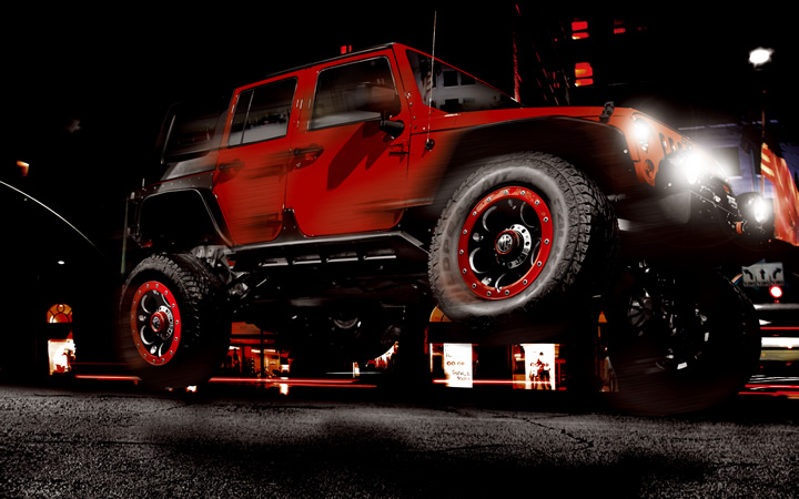 DEMON [RED Ver.] (attached to WRANGLER)