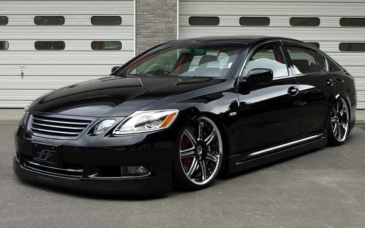 L612 [BLACK SIDE MACHINING] (attached to LEXUS GS)