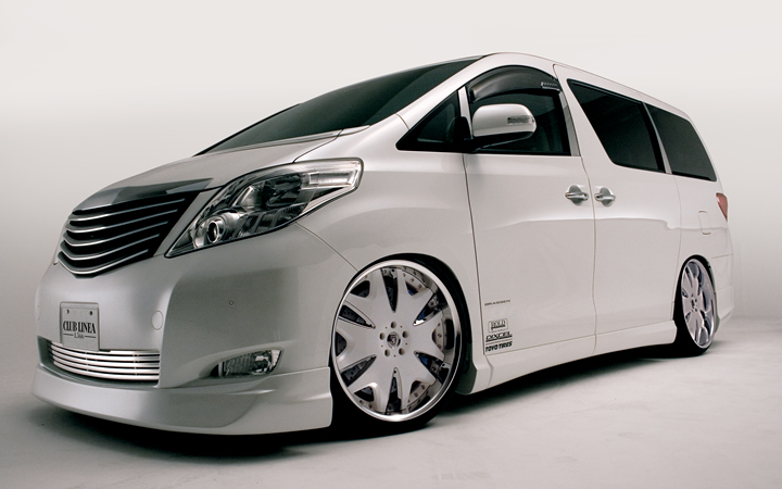 L566 -KING LABEL- [PREMIUM WHITE] (attached to ALPHARD)