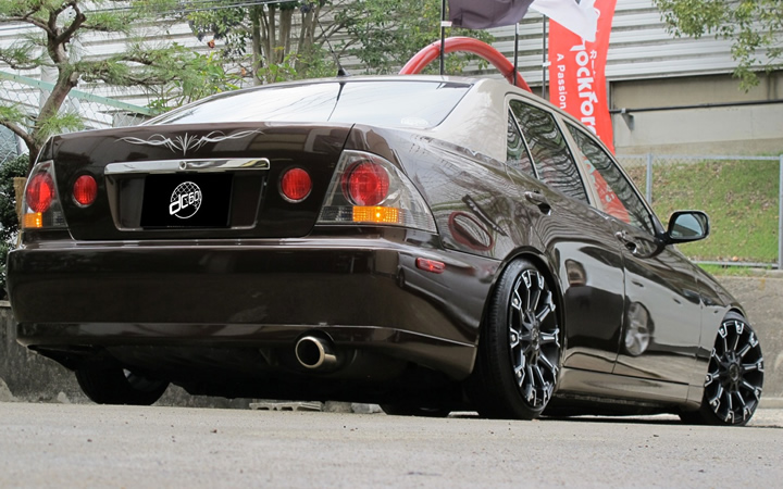 MONSTER [MAT BLACK POLISH] (attached to ALTEZZA)