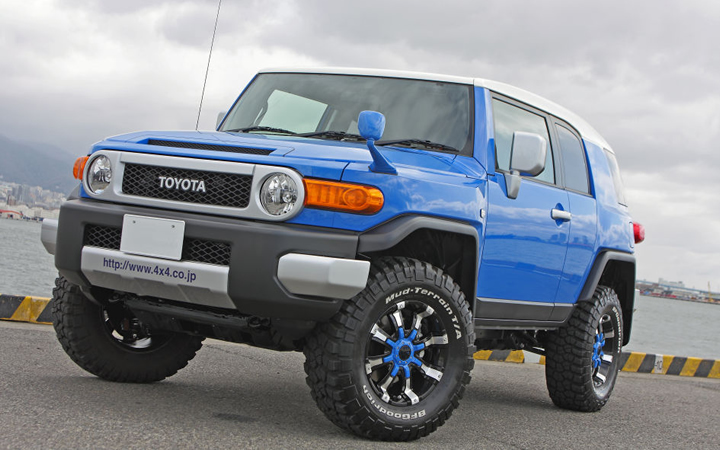 BEAST [BLACK POLISH / BLUE] (attached to FJ CRUISER)