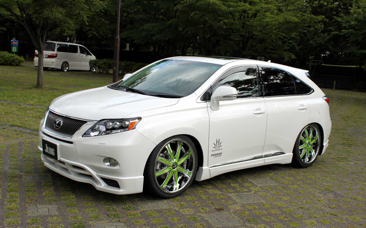 2 face F/A [METAL COAT / LIGHT GREEN] (attached to LEXUS RS)