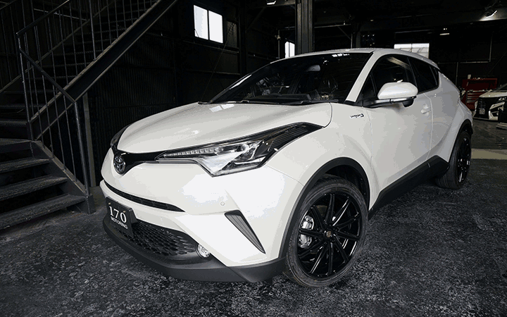 ROSSI FF [DARK CLEAR](attached to TOYOTA C-HR HYBRID G)