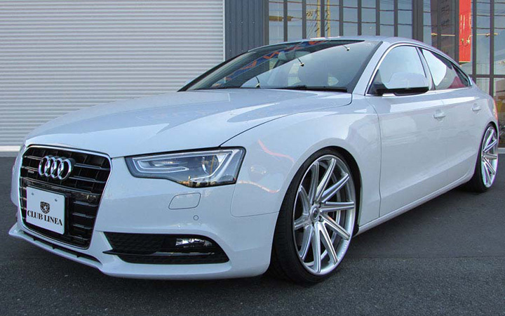 ROSSI FF[HYPER SILVER POLISH](attached to AUDI A5 Sportback)
