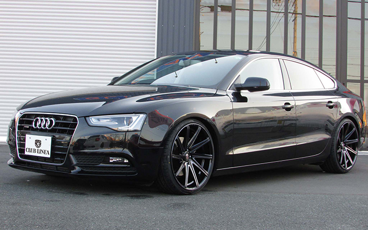 ROSSI FF[DARK CLEAR] (attached to AUDI A5 SPORTBACK)