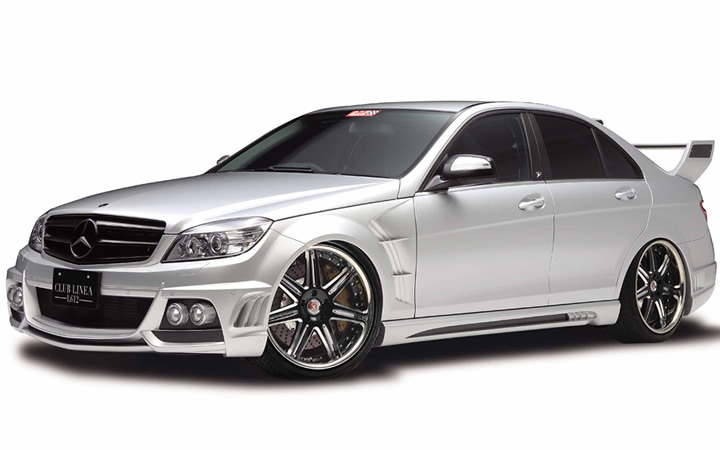 L612 [BLACK SIDE MACHINING] (attached to Mercedes-Benz C-CLASS)